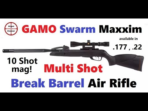 GAMO Swarm Maxxim Review (Game Changing) 10 SHOT Break Barrel Air Rifle