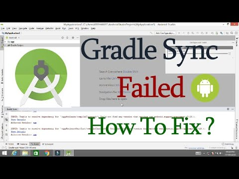 How To Solve Gradle Sync Problem In Android Studio - Migrate To AndroidX | Solved