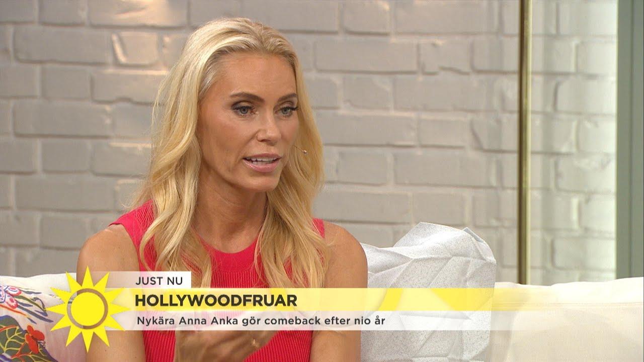 Anna Anka Gör Comeback Efter Turbulenta år Det Blev För