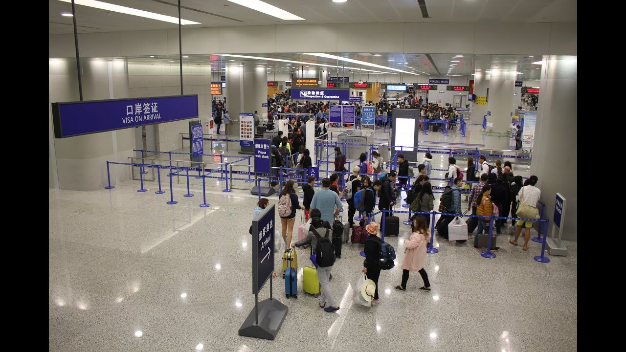 Aeroporto Guangzhou Arrive : Arriving at shanghai pudong international airport 上海浦东国际机场