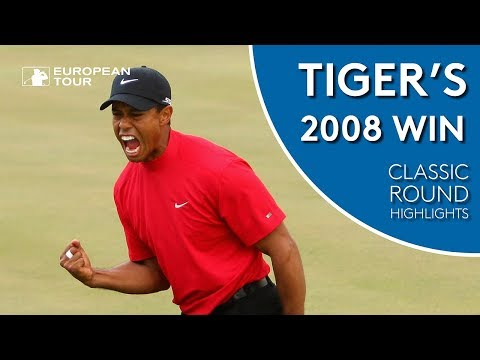 Tiger Woods' 2008 Dubai Win | Classic Round Highlights