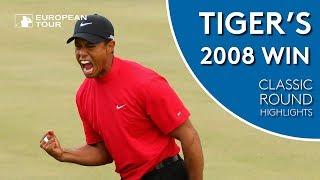 Tiger Woods' 2008 Dubai Win   Classic Round Highlights