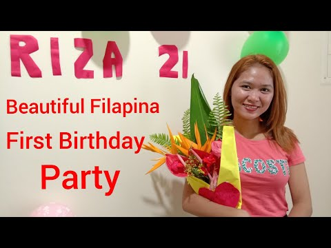 Beautiful Filipina Celebrates First Birthday Party, Relationships in the Philippines July 13, 2020