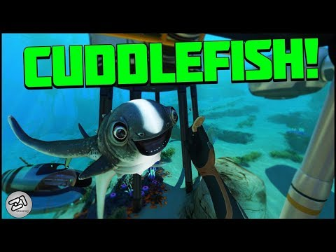 Hatching the CUDDLEFISH !! Prawn Suit Grapple Arm, Propulsion Cannon Arm! Subnautica E11   Z1 Gaming