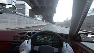 Gran Turismo Sport VR - Toyota Corolla Levin 3door 1600GT APEX (AE86) '83 Gameplay
