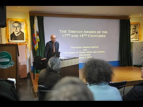 Tibetan Armies of the 17th & 18th Centuries by Prof. Elliot Sperling