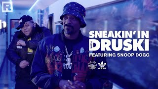 Druski pulls up to Snoop Dogg's compound to teach him about recycling | Sneakin' In With Druski