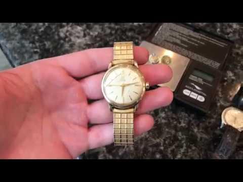 Garage Sale Finds Haul #65 -Vintage Mens Jewelry Omega Watch & 10K Pins