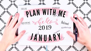 ✨January✨ Bullet Journal Set-Up 2019 | Plan With Me!