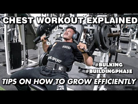 TIPS ON HOW TO GROW EFFICIENTLY   POST OLYMPIA UPDATE   #CHESTWORKOUT EXPLAINED