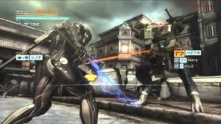 『MGR』(体験版)/テクニカルプレイムービー「市街地戦」編 thumbnail