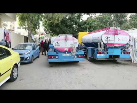 Gaza Water Tankers - JAN 2017