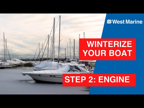 Winterizing Your Boat: Step 2 The Engine & Lower Unit