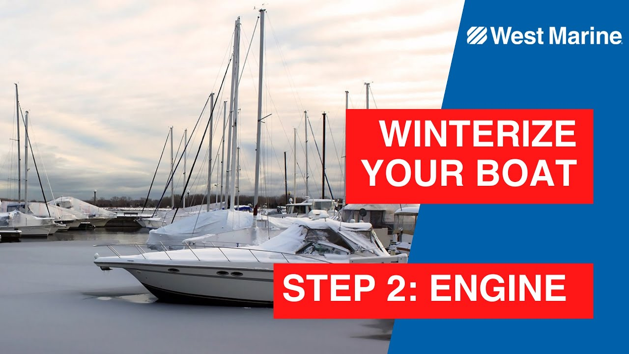 Winterizing Your Boat Step 2 The Engine Lower Unit Youtube 1982 35 Hp Johnson Outboard Wiring Harness Free Picture