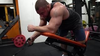 Тренировка спины за 40минут.