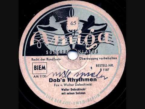 Walter Dobschinski - Dob's Rhythmens - Berlin October 1948