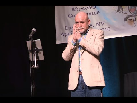 Bill Free speaks to A Course in Miracles Conference in Las Vegas 2016