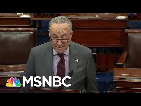 Schumer Announces Article Of Impeachment Against Trump Will Be Delivered To Senate On Monday   MSNBC