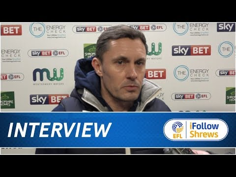 INTERVIEW | Paul Hurst Post Plymouth Argyle - Town TV
