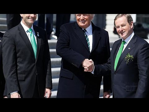 Enda Kenny urges Trump to help Irish undocumented migrants in the US