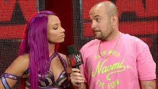 Who does Sasha Banks think has the worst finisher ever?