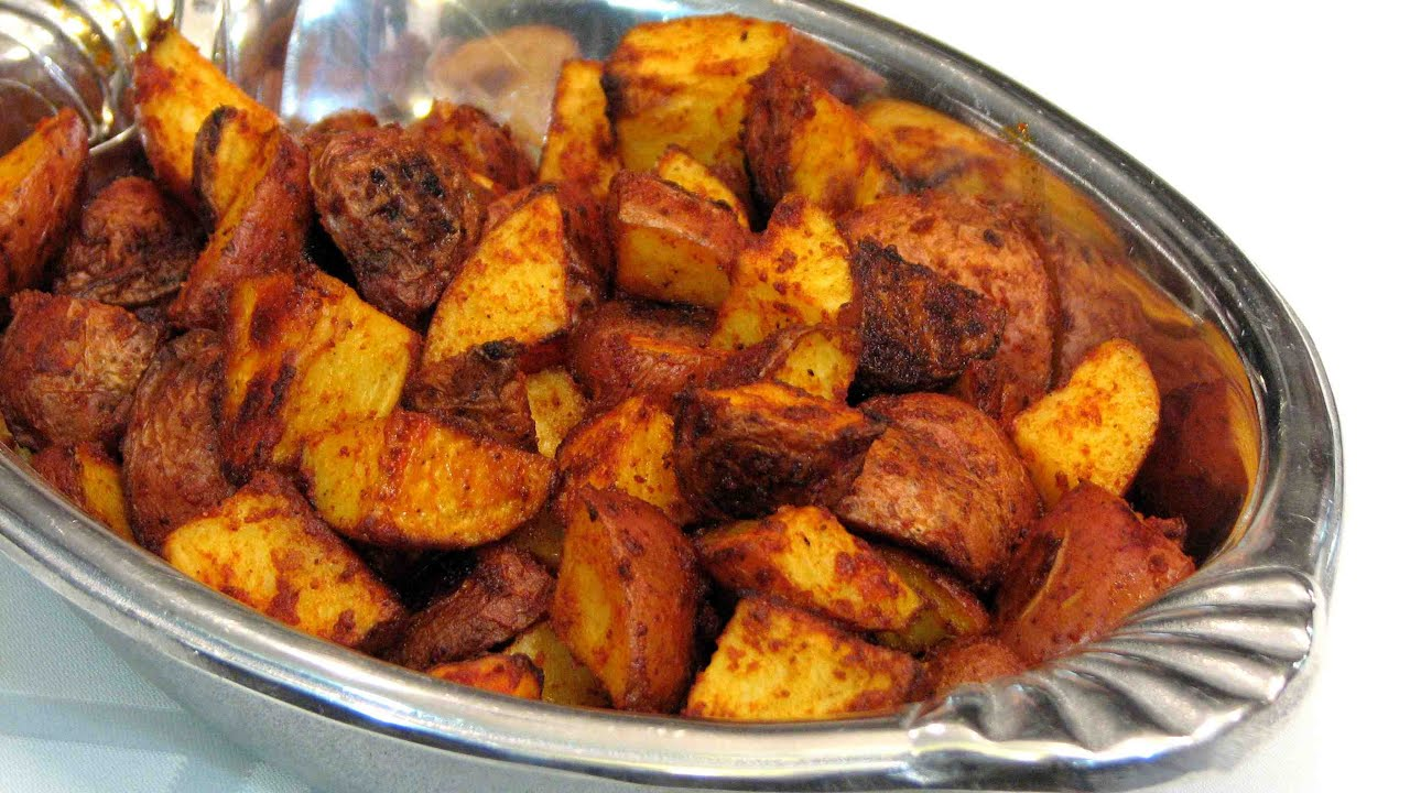 Smoked paprika roasted baby red potatoes lynns recipes youtube forumfinder Image collections