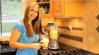 Healthy Recipes : Pineapple Orange Yogurt Smoothie