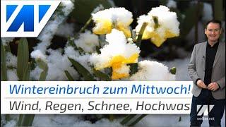 Wintereinbruch bringt Temperatursturz und Schnee!