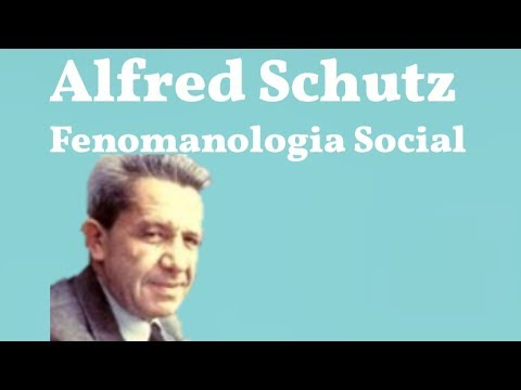 Schutz, Fenomenologia Social