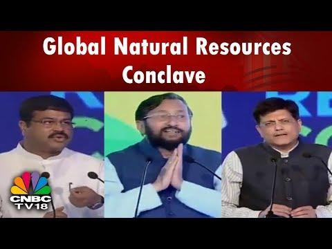 Global Natural Resources Conclave: Piyush Goyal, Prakash Javadekar, Dharmendra Pradhan Speeches