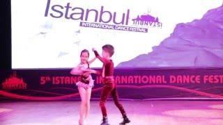 ABDA DANCERS - SEVVAL&BATUHAN KIDS 2016 TURKIYE SAMPIYONU IIDF SHOW