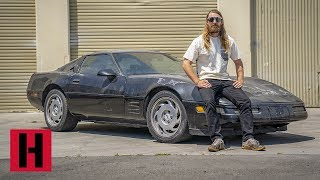 Junker Corvette Gets Donated to Hoonigan Shreditor