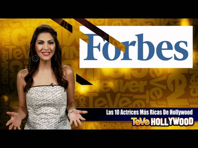 Las 10 Actrices Mas Ricas De Hollywood! Videos De Viajes