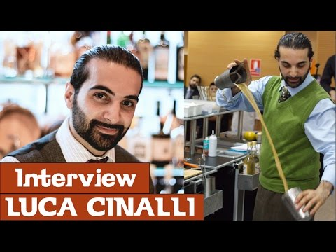 Luca Cinalli from Oriole bar in London • Interview