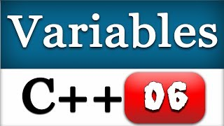 06   creating and using c variables   cpp programming video tutorial