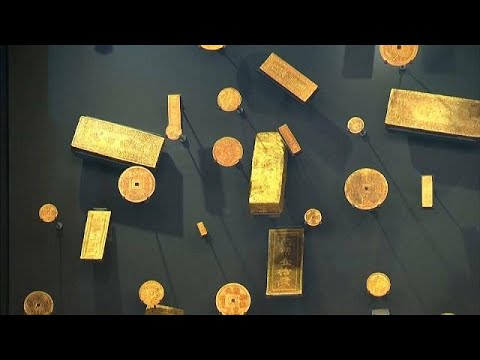 euronews (en français): Monnaie de Paris : d'or et de lumière