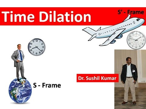 Time Dilation |Special Theory of Relativity|