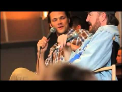 Supernatural breakfast panel with Jensen, Jared and Jim