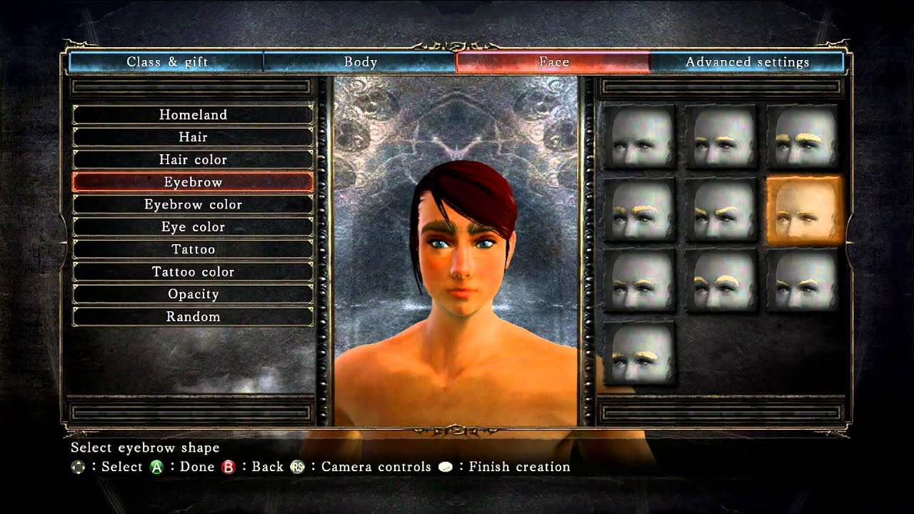 Dark Souls 2 - Character Customization (Female) - YouTube