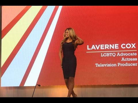 Laverne Cox, Transgender Superstar, Wows the Crowd at United States Conference on AIDS