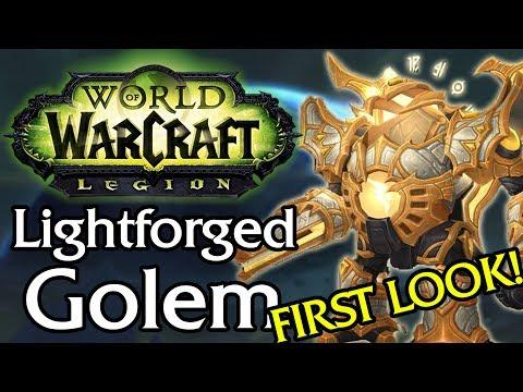 Lightforged Golem Mount! Patch 7.3 - First Look [Legion]