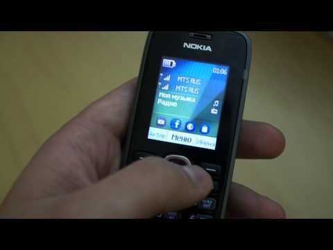 Видео: обзор Nokia 112