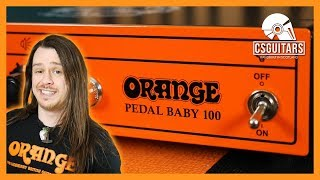 Portable Power Amp | Orange Pedal Baby 100