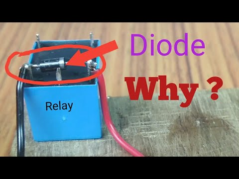 Why diode is mandatory in relay? on