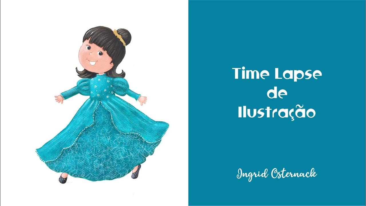 Time Lapse de Ilustração