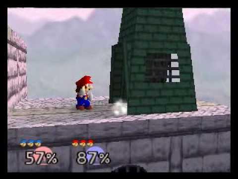 SSB64 Online:  \\ª{[Ð-Ñ]}ª{I}mNotPro[A-G]× (Blue Mario) vs [§§ß] K¡rØ× (Red Mario) R1