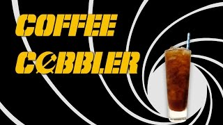 Coffee Cobbler -  The James Bond Cocktail With Brandy And Iced Coffee