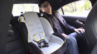2014 Mercedes Benz CLA Child Seat Review