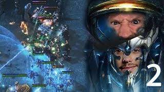 STARCRAFT 2 GEGEN JOHNNY  -  GAME 2 | RTS Olympiade