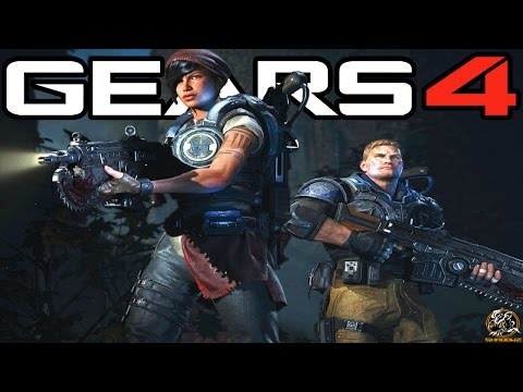 Gears of War 4 - The Coalition have Plans for Gears of War 5 & Gears of War 6! (Xbox One Gameplay)